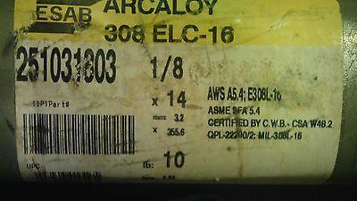 Esab Arcaloy 251013306 308L-16 Welding Rods