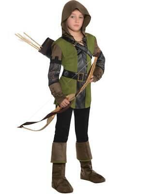CK117 Robin Hood Child Boys Medieval Book Week Halloween Fancy Dress Costume