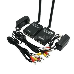 HOT-Wireless-3W-Video-Transmitter-Receiver-Monitor-Wireless-Long-Distance-TX-RX