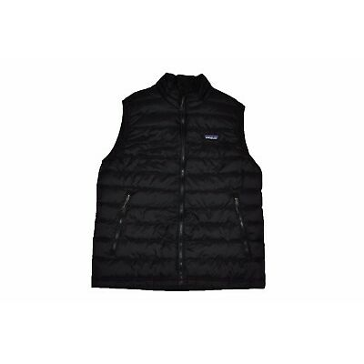 Patagonia Men's Down Sweater Vest 800 Fill Power Goose in Black Sz S-XL NEW