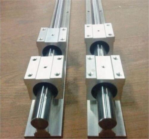 Linearlager Gleitet SBR12-1000MM 2 Stücke Schienen 4 Stücke Blöcke Für Cnc hl