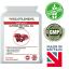 Superba-Rosso-Flora-Krill-Oil-500mg-60-Capsule-astaxantina-100mcg-UK-Made miniatura 1