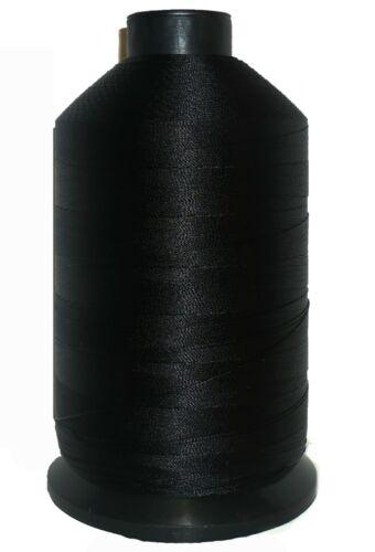 Black 3000m Cone 40/'s Bonded Nylon Thread Military Specification