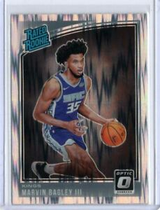 MARVIN-BAGLEY-III-2018-2019-Donruss-Optic-SHOCK-PARALLEL-PRIZM-RATED-ROOKIE-168