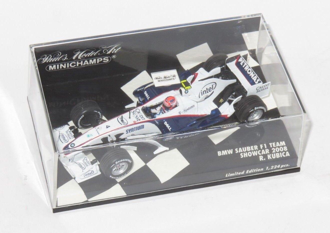 1 43 BMW SAUBER F1 Team 2008 saison car Robert Kubica