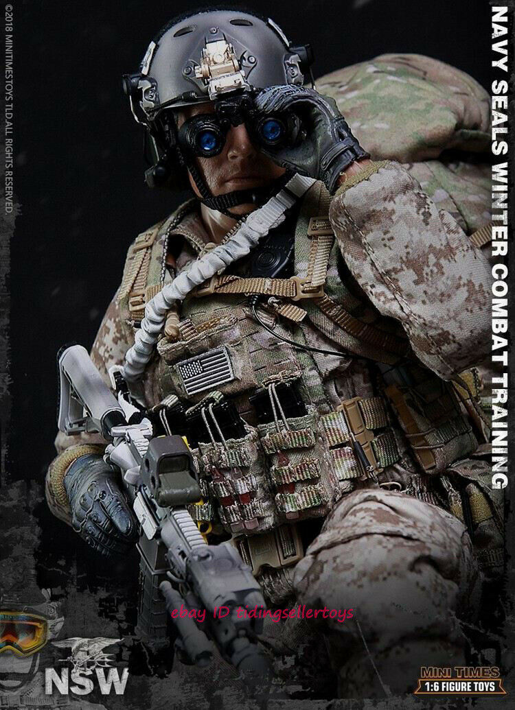 Minitimes Vest US Navy Seal Team Six ours 1//6 ACTION FIGURE TOYS DAM DID