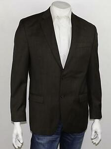 RALPH-LAUREN-Taupe-Brown-100-Wool-Woven-All-Season-Blazer-Sportcoat-42R