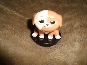 Secret-Life-of-Pets-2-Dog-PICKLES-Snapco-Movie-Cup-topper-2-034-Plastic-Figure