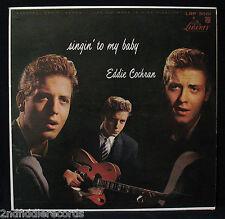 EDDIE COCHRAN-Singin' To My Baby-Mega Rare USA Album-LIBERTY #LRP 3061-Top Copy!