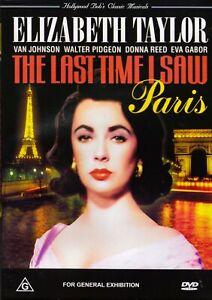 The-Last-Time-I-Saw-Paris-DVD-1954-Elizabeth-Taylor-Walter-Pidgeon-NEW