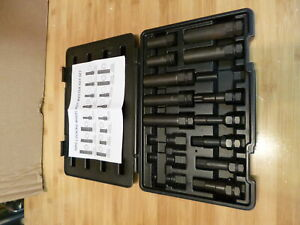 Partial-Locking-Lug-Nut-Master-Key-Set-12-of-16-PC-Socket-Tool-Kit