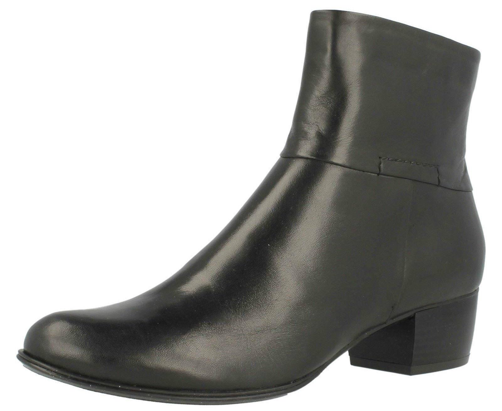 Van Dal' Romeo   señoras botas De Cuero Cuero Cuero Negro  descuento