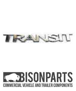 Details About Ford Transit Logo Name Plate Emblem Stick On Badge 1666170 Tra036