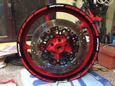 ADESIVI CERCHIONI MOTO wheels stickers lateral kit standart stripes per YZFR6
