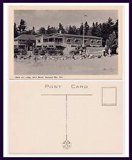 CANADA ONTARIO BALM BEACH STORE AND LODGE GEORGIAN BAY CIRCA 1950