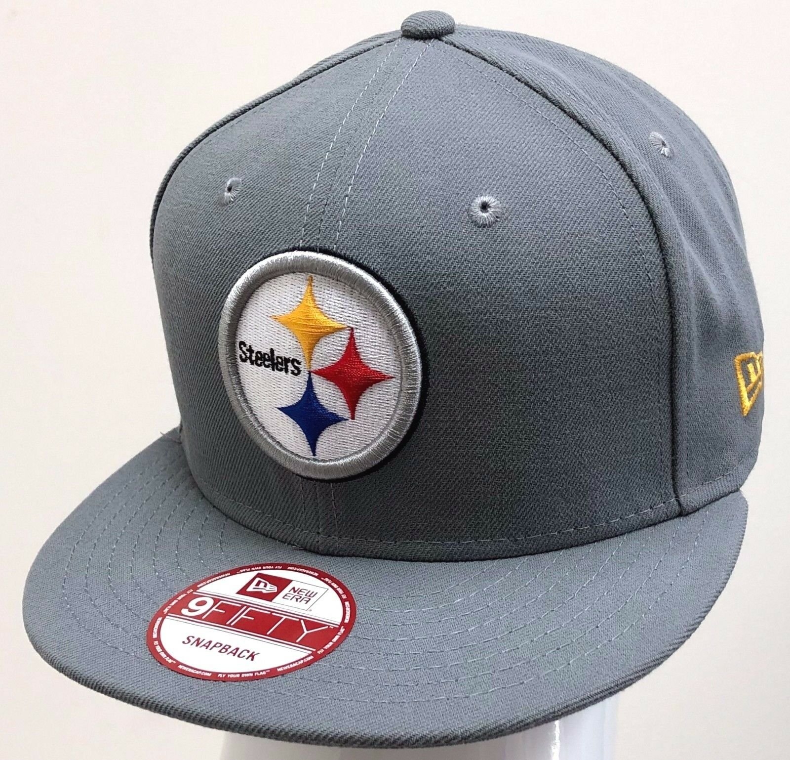 b560f4da1 ... spain new era 9fifty pittsburgh snapback custom nfl pittsburgh 9fifty  steelers grey yellow white ff2ae4 c349e