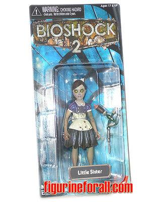 "NECA BIOSHOCK 2 LITTLE SISTER 4/"" Action Figure Europeen EXCLUSIVE Video game"