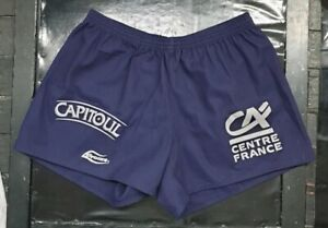 Maillot-jersey-rugby-worn-porte-racing-aurillac-short-stade-aurillacois-top-14
