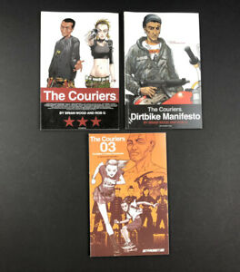 The Couriers Vol. 1,2,3 Comic Books AIT/PLANET LAR by Brian Wood & Rob G