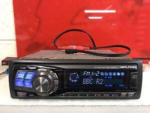 Alpine-Cda-9831r-Top-Spec-COCHE-RADIO-CD-estereo-reproductor-de-Mp3-Trasero-aux-Motorizado-cara