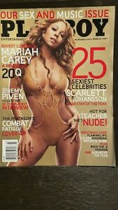 Vintage-March-2007-Playboy-issue-Sex-and-Music-Issue-Mariah-Carey-cover-MINT