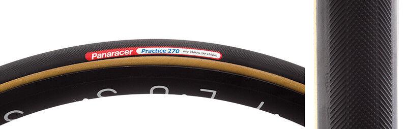 Panaracer Práctica 270 Tubular Neumático 700c X 22.5mm Negro Skinwall 42mm