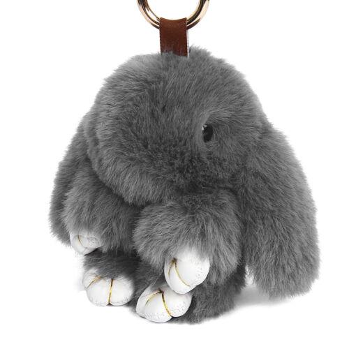 Cute Bunny Rabbit Handbag Keyring Pendant Accessories Kids Children Toy Gift