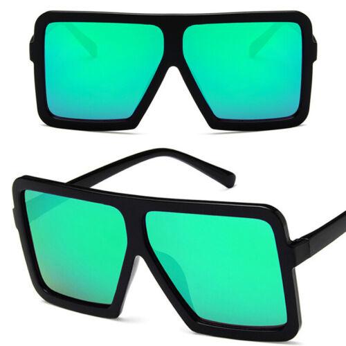 Damen Polarisiert Sonnenbrille Classic Square Hälfte Rahmen Brillen UV-Schutz
