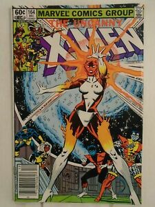 Uncanny-X-Men-164-VF-8-0-1st-Appearance-Carol-Danvers-as-Binary
