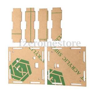 Transparent-Housing-Shell-Case-for-A-faire-soi-meme-EC1515B-DS1302-DEL-Electronic-Clock-Kit