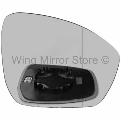 Right for Land Rover Discovery 4 14-16 Wide Angle heat wing door mirror glass