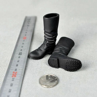 """1//6 Scale World War II Germany Combat Boots Shoes For 12/"""" Action Figure Body Toy"""