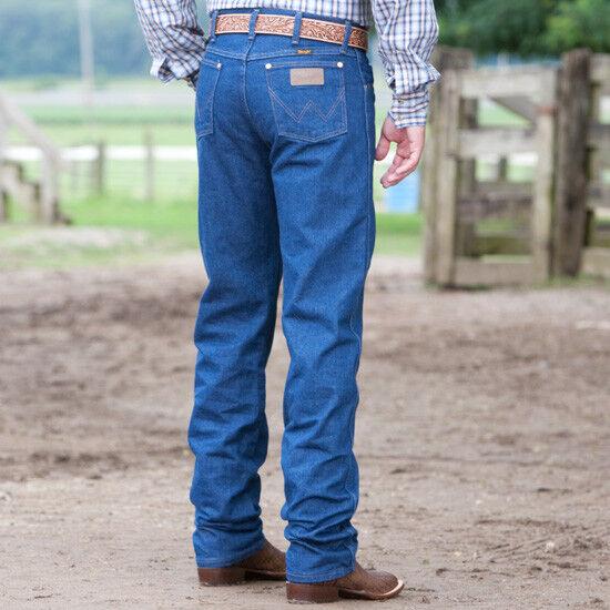 dae14c59 Wrangler 13mwz Cowboy Cut Original Fit Prewashed Mens Jeans 33 38 for sale  online   eBay