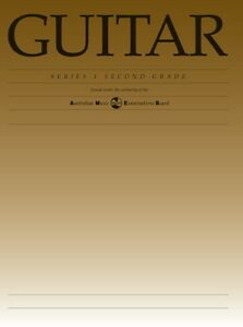 NEW-AMEB-Grade-2-Series-1-Classical-Guitar-Sheet-Music-Book