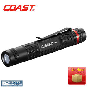 Coast-G19-LED-20-Metre-Range-Inspection-Pen-Torch-IPX4-Weather-Proof