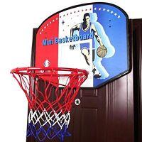 Basketball Set Outdoor Indoor Bedroom Wall Mounted Backboard Basket Ball