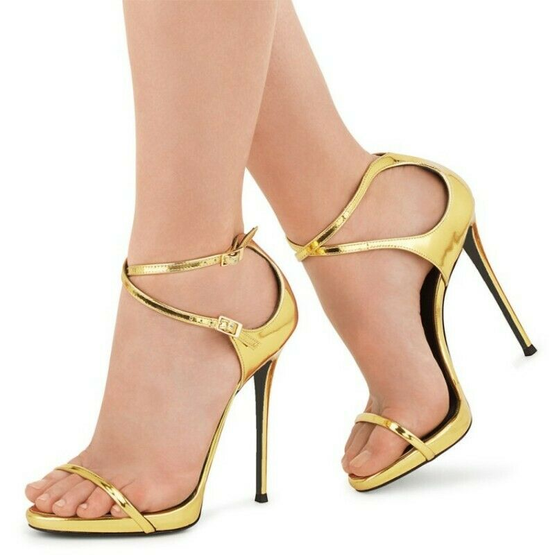 donna Pointed Toe Stiletto Sandals Party Summer High Heels Ankle  scarpe x  marchio famoso