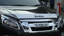 Silver Bonet Bug Guard Protector Black Small Isuzu Dmax D-Max Holden 2012 13 14