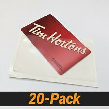 20pcs Self Adhesive Business Card Amp Gift Card Pocket 9 Mil 3 34 X 2 38 Inch