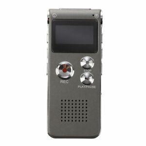 8GB-LCD-650Hr-Digital-Audio-Recorder-dittafono-ricaricabile-Spy-MP3-O3V4