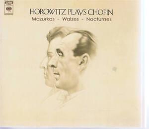 CBS-HOROVITZ-PLAYS-CHOPIN-MAZURKAS-WALTZES-NOCTURNES