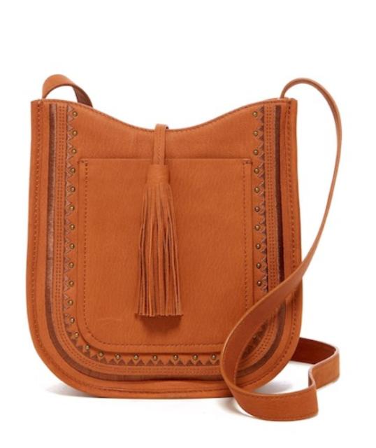 Patricia Nash Rno Secret Garden Leather Western Crossbody Saddle Bag