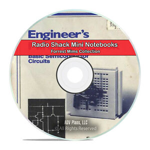 Details about Forrest Mims, RadioShack Engineer's Mini Notebooks Learning  Books CD DVD H47