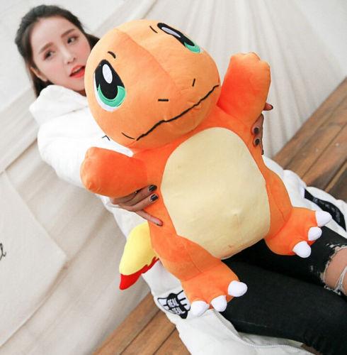 Pokemon Glumanda Charmander Plüschtier Stofftier Plush Manga Spielzeug 50cm