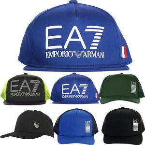 EMPORIO ARMANI EA7 HATS - MENS ARMANI WOOLY HATS - ARMANI BASEBALL ... 4115df159cb