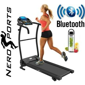 BLUETOOTH-NERO-PRO-TREADMILL-Electric-Motorised-Folding-Running-Machine
