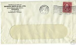 CANCELED-LETTER-COVER-POSTAL-STAMP-HONOLULU-1927-2C