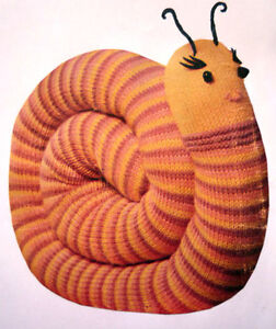 Knitting Pattern For Toy Snail : KNITTED SNAIL 8ply - Knitting Patterns Toy / Doll - # 11 ...