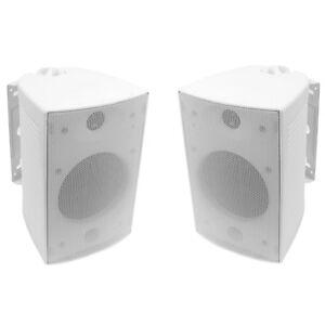 2-Pack-TDX-6-5-034-2-way-Indoor-Outdoor-weiss-Wandmontage-Lautsprecher-PAAR-NEU