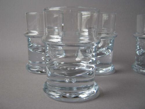 Holmegaard Glas 1v6 signiert Serie Regiment Design Sidse Werner Denmark glass